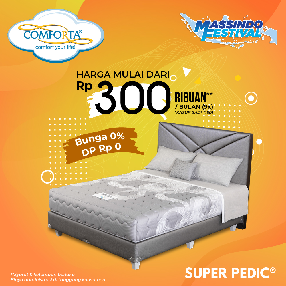 Comforta web_Super Pedic